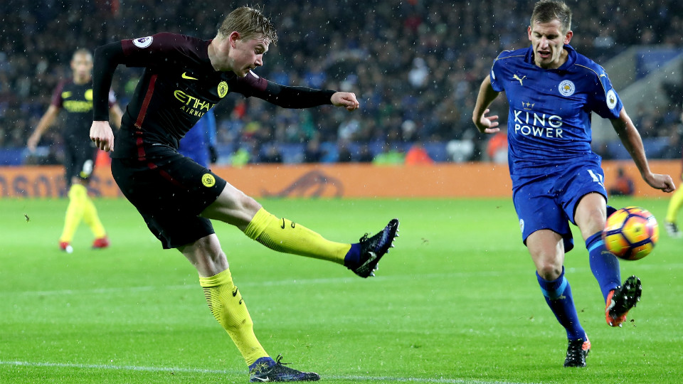 pemain manchester city dan leicester city